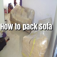 How to pack sofa Packing by heaven movers